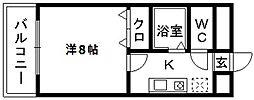 渡辺ビル[207号室]の間取り