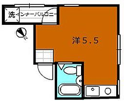 大阪管財ビル[3D号室]の間取り