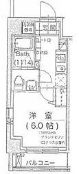 サウンドプルーフ蒲田イースト bt[603kk号室]の間取り
