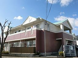 滋賀県大津市下阪本1の賃貸アパートの外観