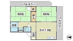 日山マンション[2-3号室]の間取り