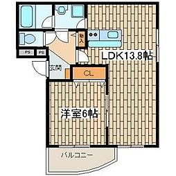 かしわ台駅 6.8万円