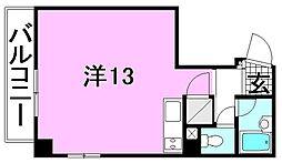 レーベン池田第六ビル[207 号室号室]の間取り