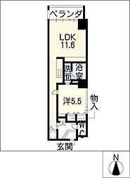 丸の内Terrace[8階]の間取り