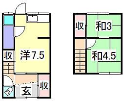 土井荘[1階]の間取り