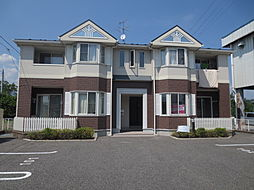 長野県飯田市松尾新井の賃貸アパートの外観