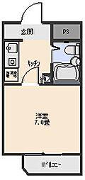 アビタシオン[204号室]の間取り