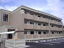 山梨県中央市下河東の賃貸マンションの外観