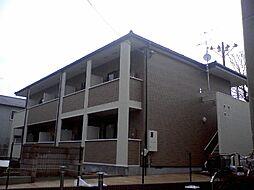 京都府京都市西京区樫原三宅町の賃貸アパートの外観