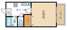 桜ケ丘アパートメント[2階]の間取り
