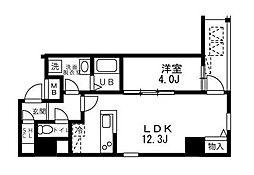 ALIKA向島(アリカ向島)[12階]の間取り