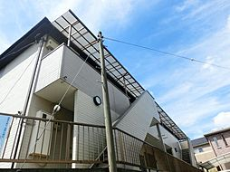 埼玉県川口市大字木曽呂の賃貸アパートの外観