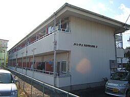 京都府城陽市平川車塚の賃貸マンションの外観