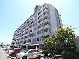 兵庫県明石市和坂の賃貸マンションの外観