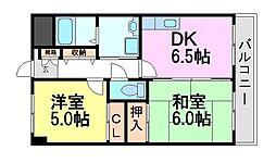 エッセ尼崎南[7階]の間取り