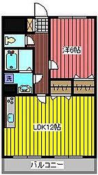 コートエスタ[5階]の間取り