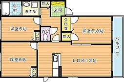 ソレーユ学園台[2階]の間取り