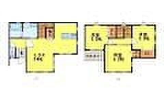 [一戸建] 福岡県春日市春日原南町4丁目 の賃貸【/】の間取り