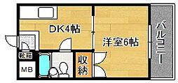 Y'sマンション[403号室]の間取り