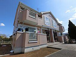 千葉県東金市西福俵の賃貸アパートの外観