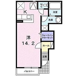 M・Kマンション partVI[0102号室]の間取り