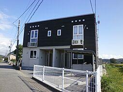 新潟県村上市緑町1丁目の賃貸アパートの外観