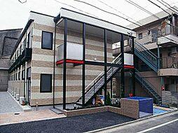 東京都江戸川区下篠崎町の賃貸アパートの外観