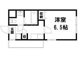 LA CACHETTE[3階]の間取り