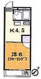 ランドフォレスト南林間IV[144号室]の間取り