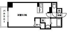 I Cube 上新庄[5階]の間取り