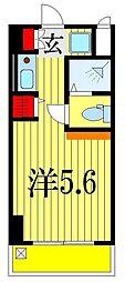 千葉県習志野市谷津7丁目の賃貸マンションの間取り