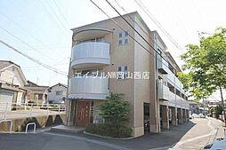 岡山県岡山市北区谷万成1丁目の賃貸マンションの外観