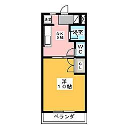 NEW SUNNY MANSION[3階]の間取り