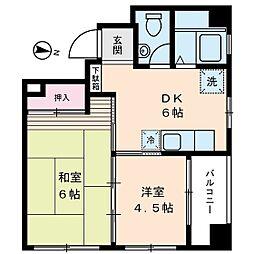 第2町田ビル[5階]の間取り