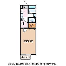グリーンローレル[2階]の間取り