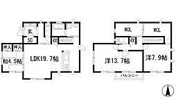 [一戸建] 兵庫県川西市大和西2丁目 の賃貸【/】の間取り