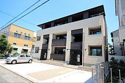 愛知県名古屋市中川区中野新町6の賃貸アパートの外観