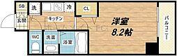 プライムアーバン御堂筋本町[9階]の間取り