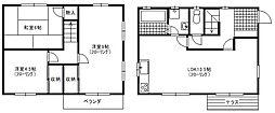 [一戸建] 東京都八王子市南陽台3丁目 の賃貸【/】の間取り