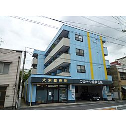 岡山県岡山市中区東山2丁目の賃貸マンションの外観