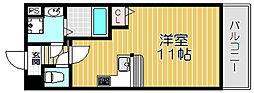 京阪本線 守口市駅 徒歩5分の賃貸マンション 1階1Kの間取り