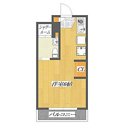Flora8[824号室]の間取り