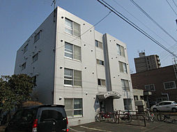 北海道札幌市東区北十五条東12丁目の賃貸マンションの外観