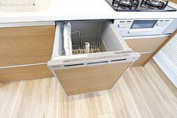 食洗機付で家事の負担を軽減してくれます