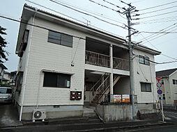 福岡県中間市中央3丁目の賃貸アパートの外観