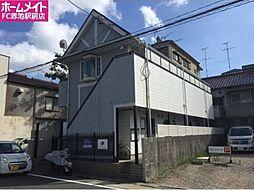 愛知県名古屋市天白区一つ山5の賃貸アパートの外観