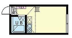 ユナイトステージ屏風ヶ浦弐番館[1階]の間取り