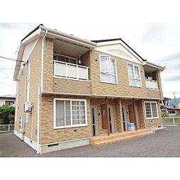 長野県長野市篠ノ井西寺尾神明の賃貸アパートの外観