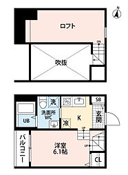 colori (コロリ)[103号室号室]の間取り