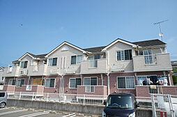 福岡県宗像市村山田の賃貸アパートの外観